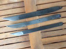Schuster, Schuhmacher, Sattler Werkzeug. 3 Messer TINA