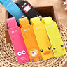 Travel Luggage Tag Suitcase Baggage Bag Name Address ID Tag Holder Silicone 3C