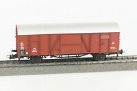 ROCO Spur H0 46100 gedeckter Güterwagen Gttmrhs 46, DB, Epoche III, OVP, AC, KKK