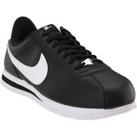 Nike Cortez Basic Leather  - Black - Mens