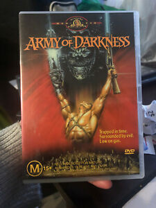 Army Of Darkness (DVD, 2004) Region 4 Rare