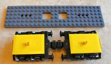 Lego City Train Bogey Bogie with Buffers & Wheels from 60197 and Base Plate