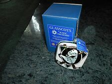 Slavic Treasures Hockey Mighty Ducks Ornament.Mouthblown Hand Painted.Nib