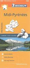 Midi-Pyrenees Map 525: Michelin Regional Maps: France