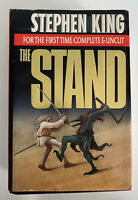 Stephen King THE STAND First Time Complete & Uncut 1990 HC DJ Hardcover Book