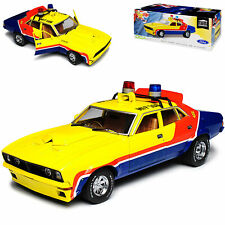 Ford Falcon Xb V8 Interceptor Police Mad Max Yellow 1973 1/18 Greenlight Model