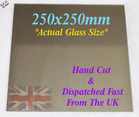 250 x 250mm Mirror Glass Plate For Heated 3D Printer Bed Geeetech ANet Prusa