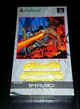 SFC Syvalion 2D-Shooter SHMUP JAPAN NTSC Super Nintendo Famicom