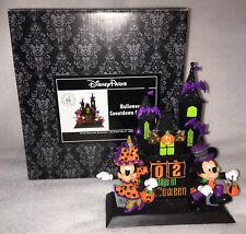 Rare Disney Parks Halloween Countdown Calendar Mickey & Minnie Haunted House