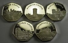 Superb Full Set of 2019 CASTLE SERIES Commemorative Coins. Fine Silver. NEW!