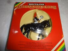 BRITAINS MEDAL MODELS HAND PAINTED MOUNTED HORSEGUARD 7244