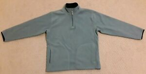 Old Navy Boys Large Light Blue 100% Polyester Pullover Sweater