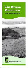 Map & Guide of San Bruno Mountain, A San Mateo County Park, California