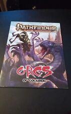 PATHFINDER COMPANION: ORCS OF GOLARION (PATHFINDER PLAYER By Paizo Staff **NEW**