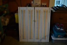 Solid Faux Wood Traditional Interior Shutters~Solid & Heavy