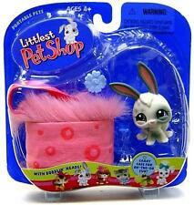 Littlest Pet Shop 2004 BUNNY w/Case lot #18 Rare Retired NIB! First 80 Pets!