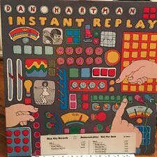 DAN HARTMAN LP INSTANT REPLAY Vinnie Vincent WHITE LABEL PROMO EX/EX