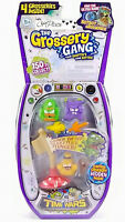New The Grossery Gang Time Wars 4 Pack