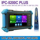 "5"" 4K WIFI POE CCTV Camera Tester Cable Tracer IPC CVBS AHD CVI TVI SDI HDMI VGA"
