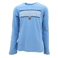 Vancouver Whitecaps MLS Adidas Kids Youth Girls Size Long Sleeve Shirt New Tags