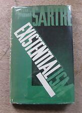 EXISTENTIALISM by Jean-Paul Sartre -1st/1st 1947 HCDJ -  philosophy - VG+