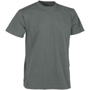 HELIKON ARMY TACTICAL MENS T-SHIRT MILITARY TEE SECURITY TOP COTTON SHADOW GREY