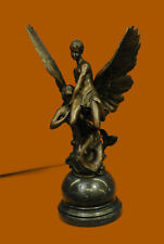 Bronze La Sirene - After Denys Pierre Puech made by European Finery Gallery Deal