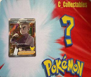 Pokemon Card Professor's Research Holo Celebrations 024/025 25th Anniversary