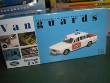 Vanguards 08201 - Triumph 2.5 PI Police West Mercia Constab - 1:43 Made in China