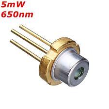 TO 18 5mW 650nm Red Laser Diode Module Laser Generator