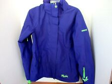 MARKER~Blue GORETEX Unlined JACKET~Thumb Holes~Underarm Ventilation~Women's 8