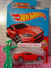 Case G/H 2016 i Hot Wheels Aston Martin Dbs #106✰Red; pr5✰Then and Now✰1:64