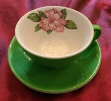 Greenbrier Hotel Dorothy Draper Rhododendron Coffee Cup & Saucer