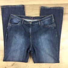 Boden Women's Blue Denim Jeans Boot Cut Size 18R W36 L31 (AU19)