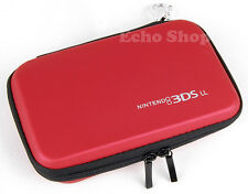 Red EVA Hard Protect Case For NITENDO 3DS XL LL Console With Game Holders