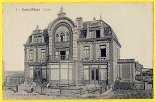 cpa LOON PLAGE (Nord) Le CASINO Animé Grand Hôtel des Bains Station Balnéaire