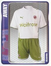 276 AWAY KIT ENGLAND READING.FC STICKER FL CHAMPIONSHIP 2010 PANINI