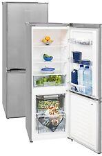 Kühl Gefrierkombination Tiefkühlschrank Exquisit A++ silber 158 kWh /Jahr 161 L