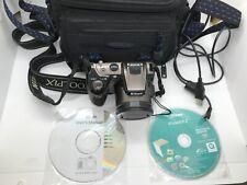 NIKON Coolpix L120 14.1 mp Digital Brown Camera 21x Zoom w/ Samsonite Case