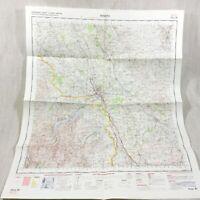 1970 Vintage Militare Map Penrith Appleby Cumbria Eden Valley North Occidente