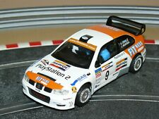 Scalextric TecniToys Coche SEAT CORDOBA WRC Play Station 2 Criville slot 1/32