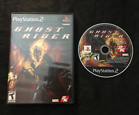 Ghost Rider — Cleaned/Tested! Free Shipping! (PlayStation 2, ps2, 2007)