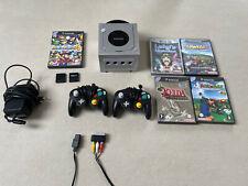 Nintendo GameCube Spielekonsole (PAL) +5 Spiele +2 Controller