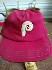 Vintage Boys Philadelphia Phillies Snapback Mesh Trucker Hat MLB baseball USA