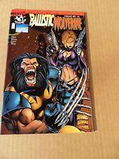 Ballistic / Wolverine 1 .Devil's Reign (4) - Marvel / Top Cow  . 1997 - VF +