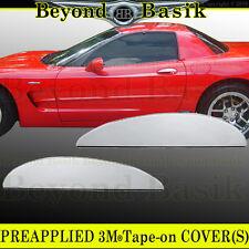 1997-2004 Chevy CORVETTE Chrome Door Handle Lever COVERS Overlays Trims