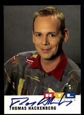Thomas Hackenberg RTL Autogrammkarte Original Signiert # BC 136211