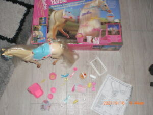 Barbie Mattel Zubehör Leckermaul Pferd