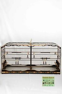 CAGE WOOD OF 120 CENTIMETERS CANARY AND OTHER BIRDS