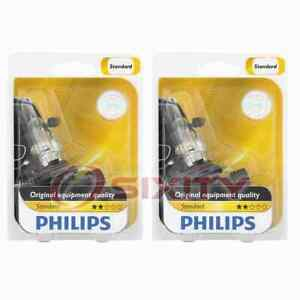 2 pc Philips Daytime Running Light Bulbs for Scion FR-S 2013-2016 Electrical cp